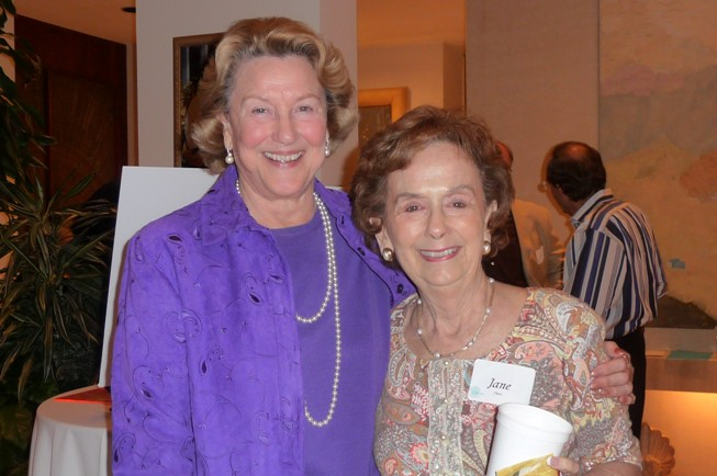 Lyn Flynt and Jane Owen