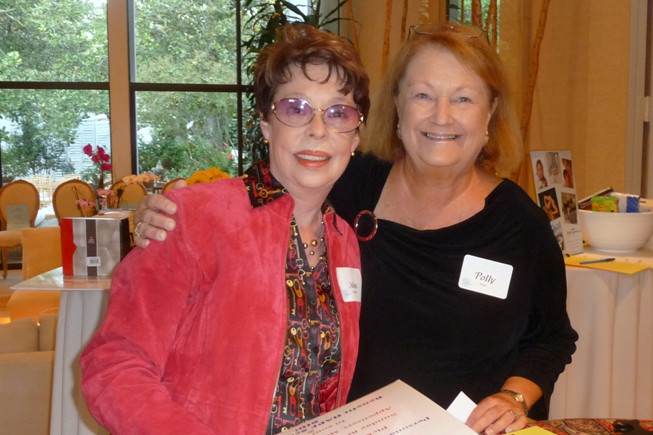 Mimi Hagedorn and Polly Kent