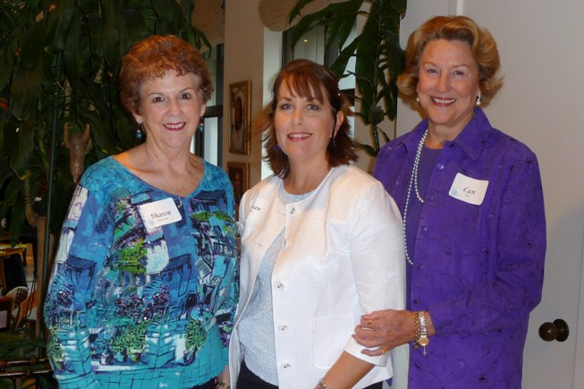 Sharon Shelton Pease, Susan Banks, Lyn Flynt